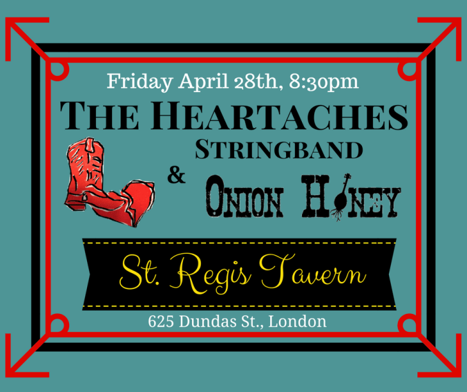 Show poster - The Heartaches at the St. Regis