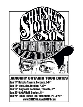 Sheesham Lotus & Son at the Soho London Ontario
