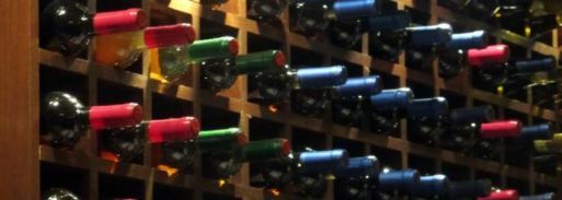 Food and Drinks at The Helyar Arms - wine cellar