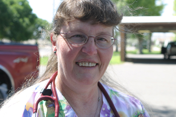 Candy Campbell is the new physician assistant at Rangely District Hospital. In addition, two new doctors will be joining the hospital's staff soon.