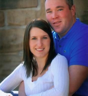 Darci Dunn and Justin Crawford