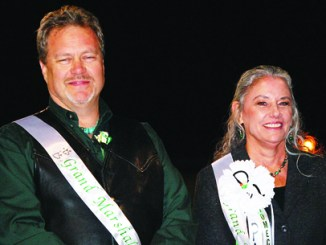 Jeff Miller and Mary Lansing have been teachers or school administrators for a combined  61 years. Both will retire at the end of this school year.  Lansing is the current principal at Parkview Elementary and acting assistant superintendent. The two were honored by students when asked to be the 2010 Homecoming parade marshals.