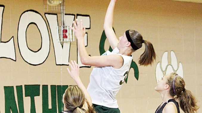 The Meeker girls' team won all six of their games.