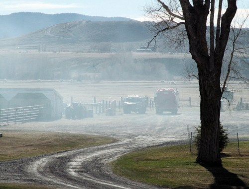 """Fourteen controlled burns have gotten out of control in the last week, three in the Rangely area and 11 in the Meeker area, according to Rio Blanco County undersheriff Mike Joos, including one at the High Lonesome Ranch east of Meeker. Meeker fire chief Steve Allen said the conditions are """"surprising everyone in how quickly they get out of control,"""" and he asked for people to make sure to call in (878-9600) before burning to get condition updates and ask if there are """"no burn"""" or """"red flag"""" warnings in place."""