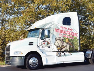 Mack Trucks will once again serve as official transporter of the Capitol Christmas tree and has provided two custom-decorated Mack Pinnacle model trucks for the project.