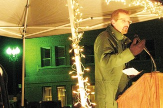 Blanco District Ranger Ken Coffin announced to Meeker mayor Mandi Etheridge and the many others who attended the PMC tree lighting last December that the 2012 Capitol Christmas Tree would be harvested from the White River National Forest. Preparations for Colorado's gift to the people of the United States  began immediately after the announcement. The celebration begins tomorrow with the actual cutting of the tree and a mayor's reception at the Meeker Hotel starting at 5 p.m. A complete schedule of events can be seen on page 5 of this week's special section.