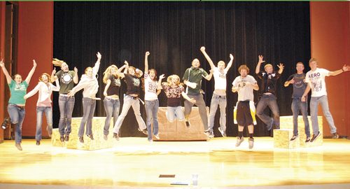 """""""The play is the first high school drama performance in Rangely in approximately six years,"""" said drama teacher Cody Brunton."""