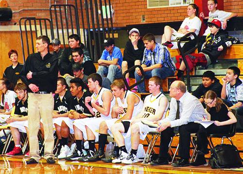 Assistant coach Matt Dupire will trade seats with head coach Klark Kindler again this weekend.