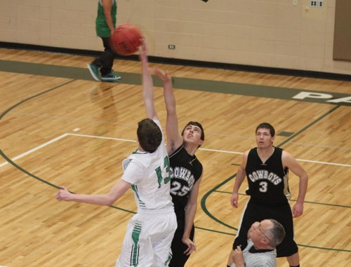 Rangely won the opening tip and the game against Meeker 28-27 Tuesday.