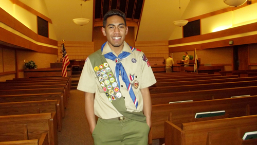 Tala Atoafa is the 20th Eagle Scout in Meeker to receive his award since the first Eagle Scout award was presented to Meeker Scouts beginning in 1948. He joins his friend Collin Cochran and his brother Alema as Eagle Scouts. Less than five percent of all Scouts earn the Eagle Scout award. More than two million young men have earned the Eagle Scout award since Scouting's founding more than 100 years ago. Among these are many famous individuals such as astronauts, corporation presidents, physicians, lawyers, professors and college presidents, congressmen and senators, and a president of the United States, as well as many more distinguished professions. Being an Eagle Scout opens many doors for college admission applications and careers, as it is well known as a credential for outstanding leadership abilities and citizenship. The Western Colorado Council of Boy Scouts of America, and the Meeker community extend sincere congratulations to Tala on this outstanding achievement.