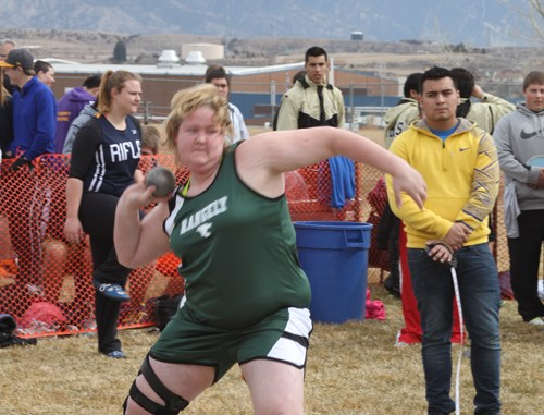 Rangely senior Holly Lepro (above) has been cross-training to prepare for this season after earning a silver medal in the shot put and a bronze in the discus throw at last year's state meet. Junior Connor Phelan (left) also returns with state experience. He qualified in two relays and the 400-meter dash. The Panthers will compete in Hotchkiss this Saturday.