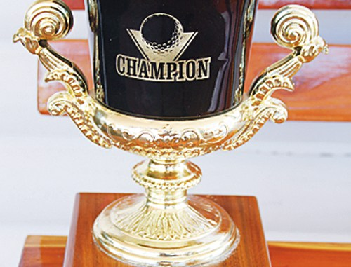 """""""The Cup"""" will be displayed in the clubhouse at Cedar Ridges Golf Course."""