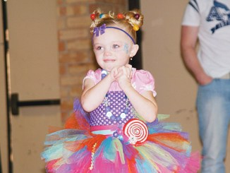 Four-year-old Aveahna Klein of Rangely won the Miss Congeniality title in the 2013 Snowflake Baby Contest.
