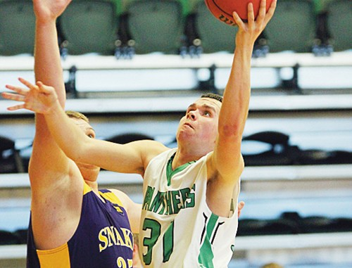 It was RHS junior Colt Allred's turn to step up and lead the Panthers to victory, which he did, scoring 20 points against the Little Snake River Rattlers.