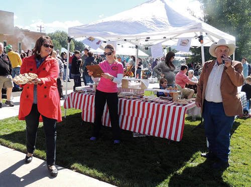 Part of the fun at the 11th annual Mountain Valley Bank Fall Festival will include the pies, salsas and jellies/jams auctioned off to the highest bidders. Events Saturday in downtown Meeker begin with a run at 9 a.m. and the Fall Festival beginning at 11 a.m. All  ages are invited to drop in and take part in the fun, which will last until 2 p.m. The event is co-sponsored by White River Electric Association and the ERBM Recreation and Park District. See insert within today's Herald Times.