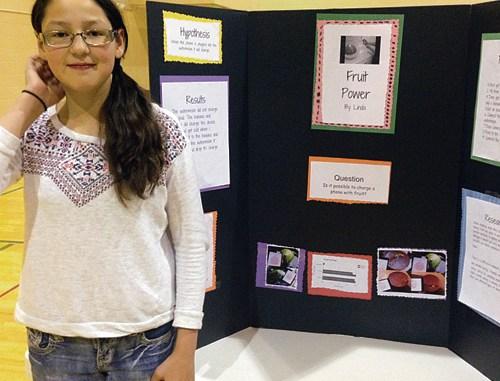 Fifth grade winner was Linda Quezada.
