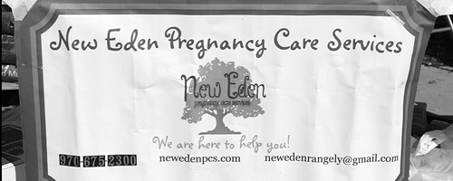 The ladies who volunteer at New Eden Pregnancy Care Services had a BBQ and bake saleFriday and Saturday on the corner of Main and South White. Melissa Norman, the head of the program, when asked how she thought the group did overall, she said pretty well but she was notsure of any numbers at this time. Norman said they do these fundraisers so New Eden can pay thebills during the lean months like the winter when heating costs and other expenses increase. The organization is always in need of diapers if anyone wants to make a donation.