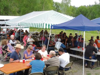 The weather couldn't have been much better for the annual Buford School annual fish fry, which was held Saturday at the school, located along County Road 17, about 22 miles east of Meeker. Saturday's crowd just kept on coming for the two hours of the white fish dinner, and the incredibly vast array of side dishes and desserts showed that the women of the area do know how to throw a great feed.