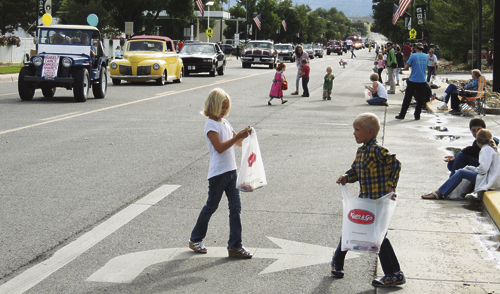 No one loves a parade more than children. Rangely's Main Street is filled with kids collecting candy during the annual Labor Day parade, which begins at 10 a.m. Monday.