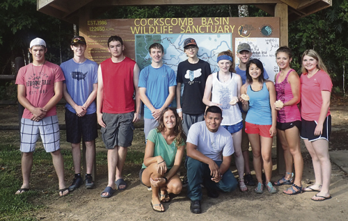 Ten students from Meeker High School made the trip to Belize in June with science instructor Dr. Robert Dorsett. The students studied a variety of specific subjects during their trip, and they will present a free public slide show report of their trip on Aug. 11 at 7 p.m. at Meeker Public Library. All are welcome.