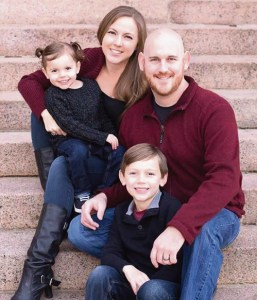 Pastor David Petty, joined by his wife, Amberly, and two children, James, 6, and Rachel, 3, is the new pastor at Meeker United Methodist Church. A year ago they packed and left Southern California for Denver so David could attend Iliff School of Theology, the same school his father had attended to become a Methodist minister for 43 years. This summer they were delighted to accept the pastorate at Meeker United Methodist Church. They are excited to experience the small-town dynamic, and in their spare time they are thrilled to be in an area that allows them to enjoy many outdoor activities.