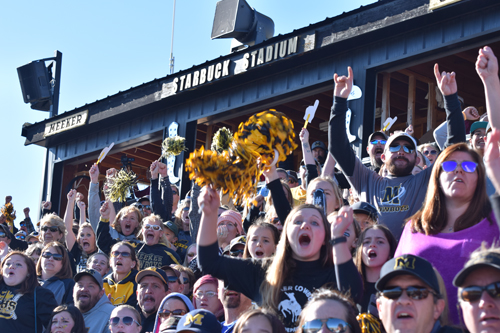 Meeker fans had their hopes up high when the Cowboys scored the first touchdown of the state championship game. Despite the outcome, Cowboy Pride remains strong.  Caitlin Walker photo