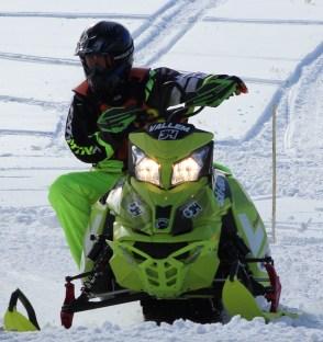b phmk snowmobile 2nd place vallem