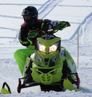 b phmk snowmobile 2nd place vallem