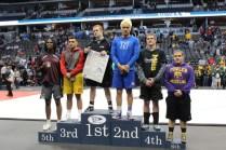 caleb on podium