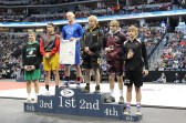 casey on podium