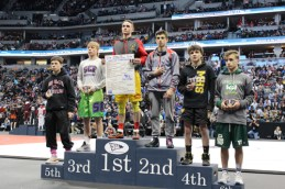 jacob pelloni on podium