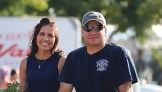 Matt Scoggins Photo Elaine and Andrew Shaffer were this year's Septemberfest parade marshals.