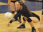 Meeker senior Avery Watt had 179 digs and 32 serves for aces this season. Jim Cook photo