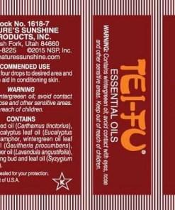 Tei Fu Essential Oil Blend - Pocket-Size