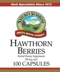Hawthorn Berries (100 capsules)