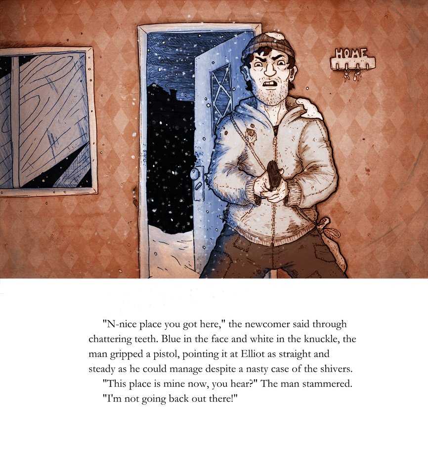 Walking in a Winter Wasteland: page 7