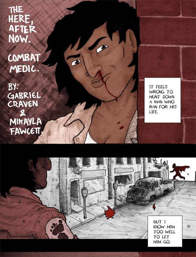 Combat Medic: Page 1