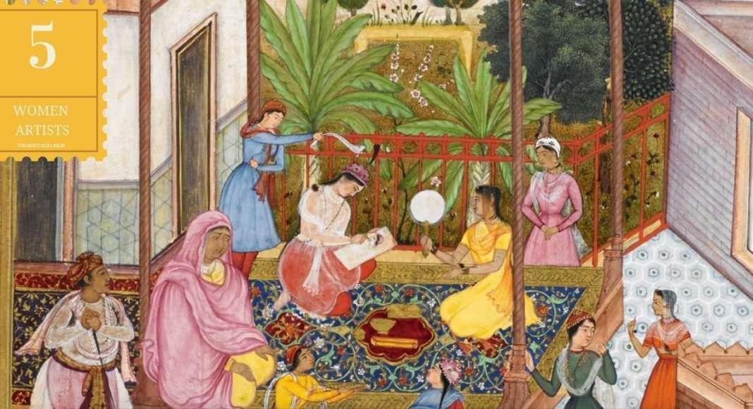 5 women artists of india