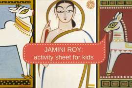 jamini roy for children