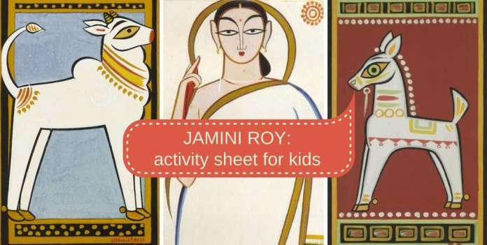 jamini roy for children