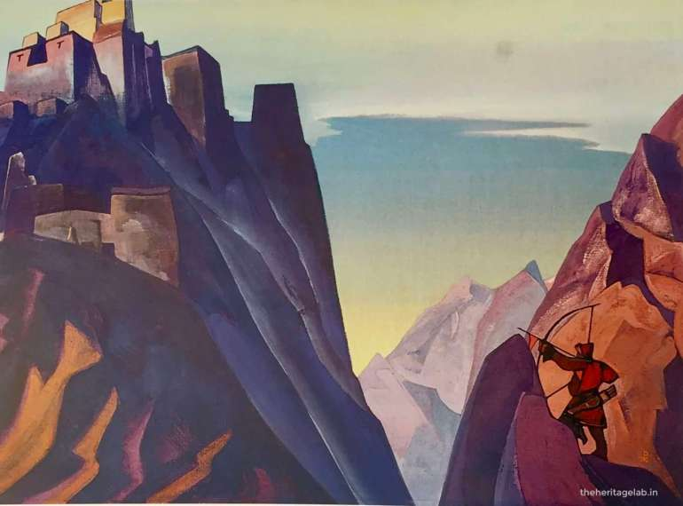 himalayas paintings roerich