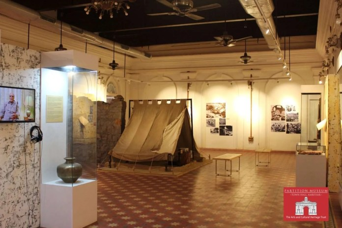 Partition Museum job