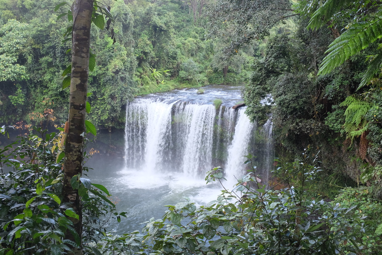 Tad Champee waterfall (Bolaven Plateau, Laos)
