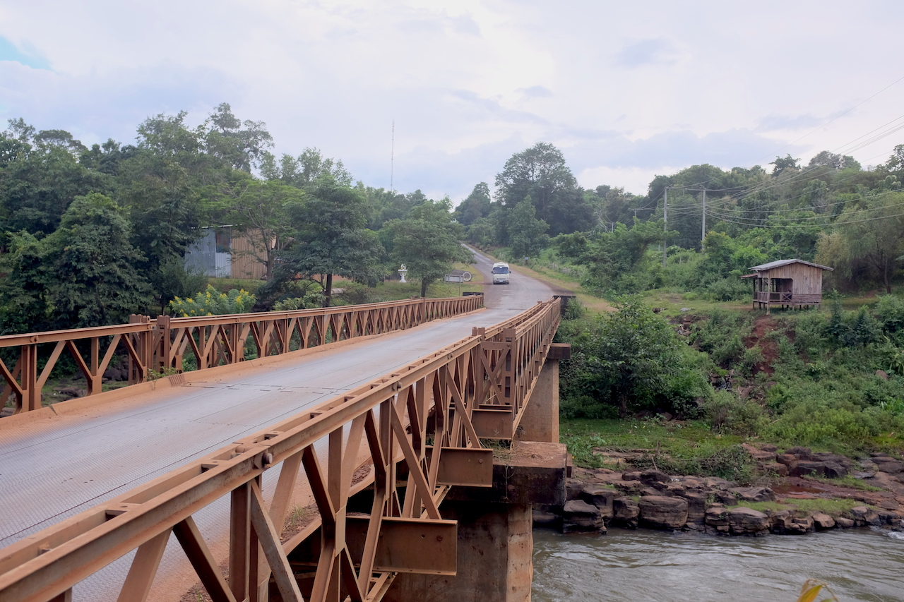 Bridge (Bolaven Plateau, Laos)