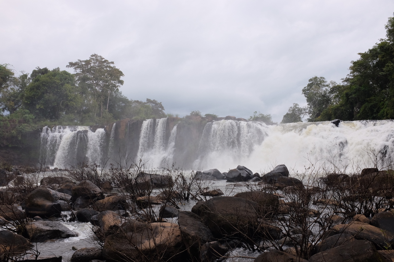 Tad Hang waterfall (Bolaven Plateau, Laos)