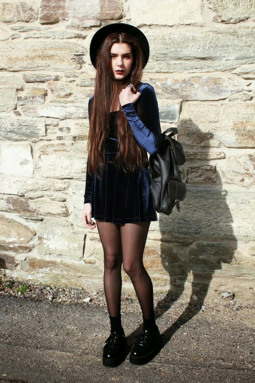outfits with flats 90s grunge
