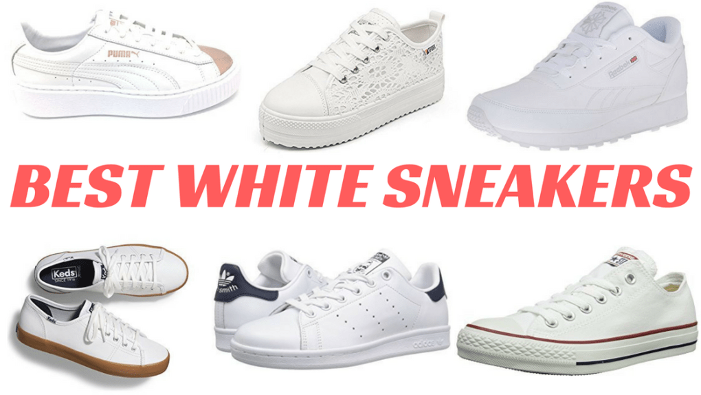 BEST WHITE SNEAKERS title