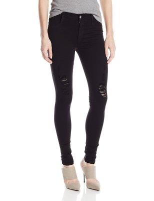 James Jeans Womens Twiggy Dancer Seamless-Side Legging Jean
