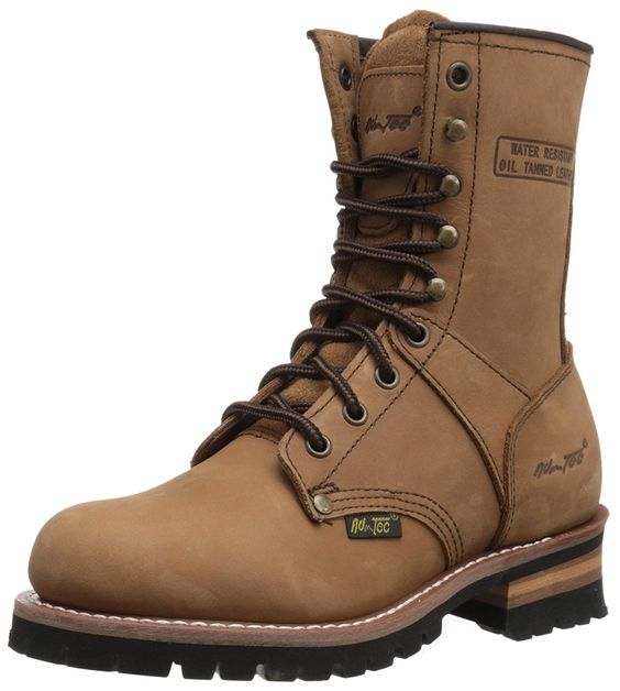 Comfortable work boots for wide feet