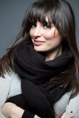 how to wear a blanket scarf infinity loop